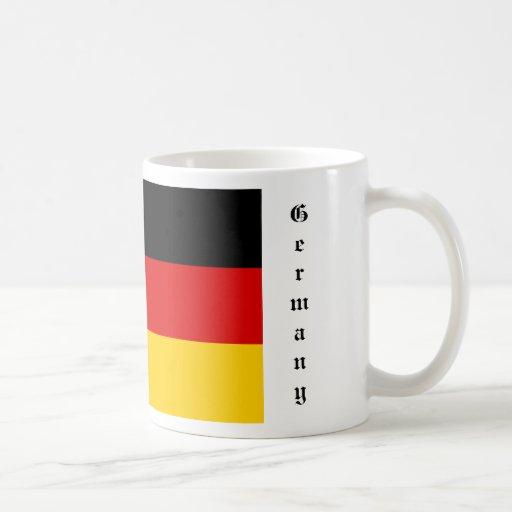 Taza de la bandera de Alemania
