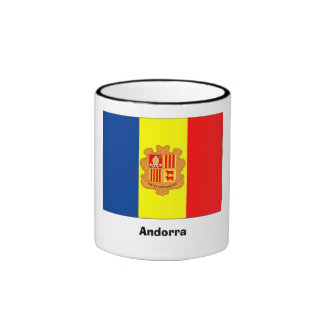 Taza de la bandera de Andorra