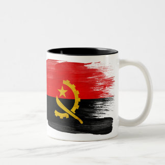 Taza de la bandera de Angola