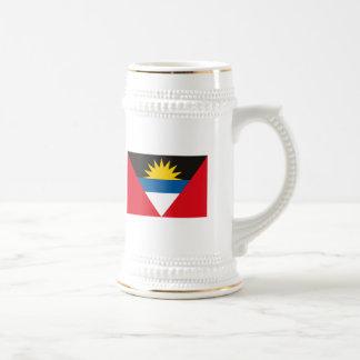 Taza de la bandera de Antigua y de Barbuda