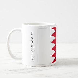 Taza de la bandera de Bahrein