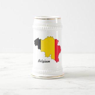 Taza de la bandera de Bélgica