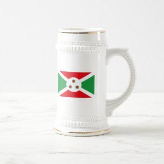 Taza de la bandera de Burundi