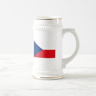 Taza de la bandera de Checoslovaquia