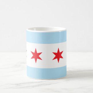 Taza de la bandera de Chicago