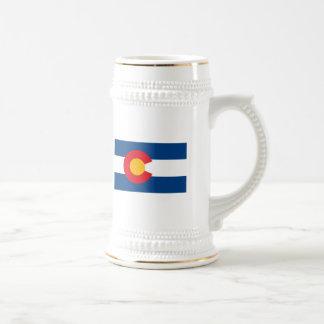 Taza de la bandera de Colorado