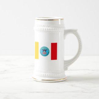 Taza de la bandera de Columbus Ohio