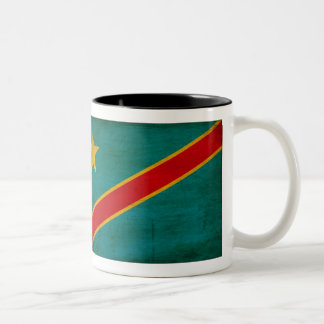 Taza de la bandera de Congo