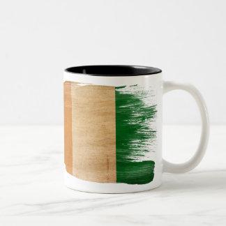 Taza de la bandera de Costa de Marfil