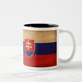 Taza de la bandera de Eslovaquia