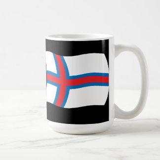 Taza de la bandera de Faroe Island