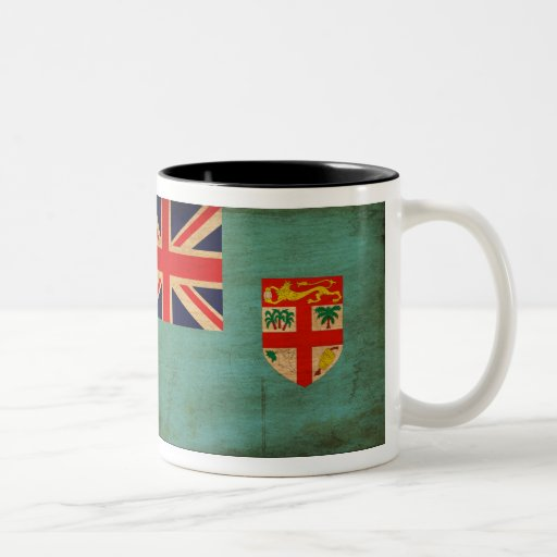 Taza de la bandera de Fiji