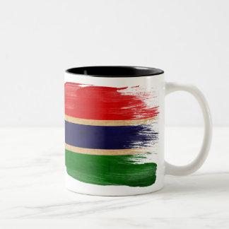 Taza de la bandera de Gambia