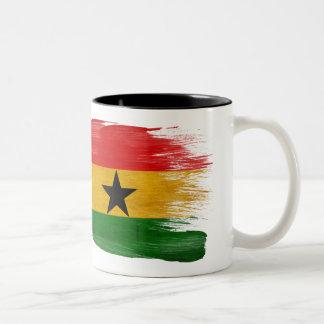 Taza de la bandera de Ghana