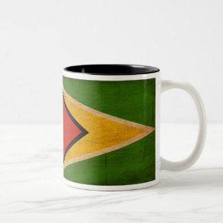 Taza de la bandera de Guyana