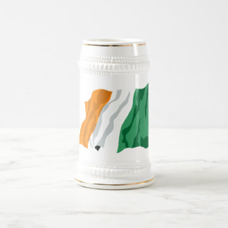 Taza de la bandera de Irlanda de St Patrick