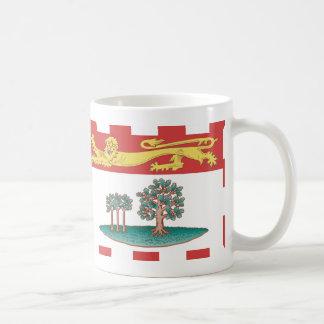 Taza de la bandera de Isla del Principe Eduardo