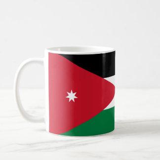 Taza de la bandera de Jordania