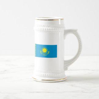 Taza de la bandera de Kazajistán