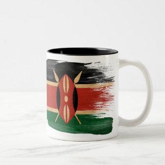 Taza de la bandera de Kenia