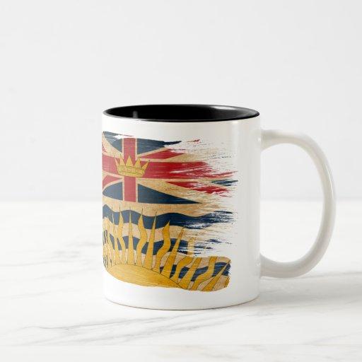 Taza de la bandera de la Columbia Británica