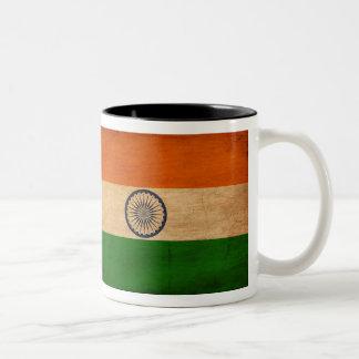 Taza de la bandera de la India