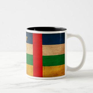 Taza de la bandera de la República Centroafricana