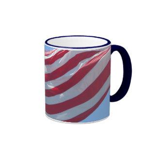 Taza de la bandera de los E.E.U.U.