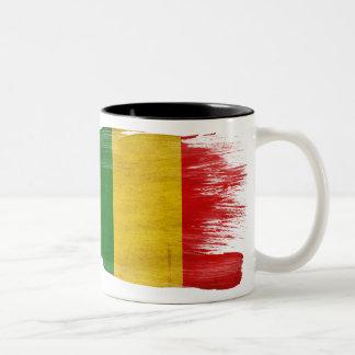 Taza de la bandera de Malí