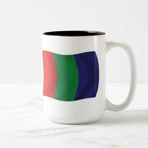 Taza de la bandera de Marte