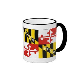 Taza de la bandera de Maryland