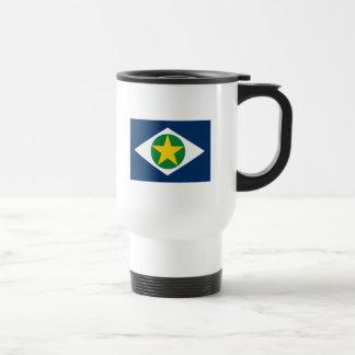 Taza de la bandera de Mato Grosso