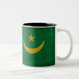 Taza de la bandera de Mauritania