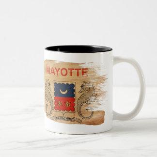 Taza de la bandera de Mayotte