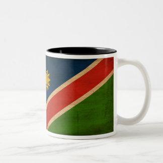 Taza de la bandera de Namibia