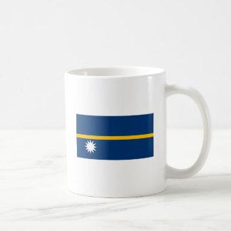 Taza de la bandera de Nauru