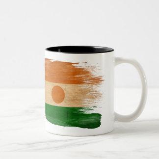 Taza de la bandera de Niger
