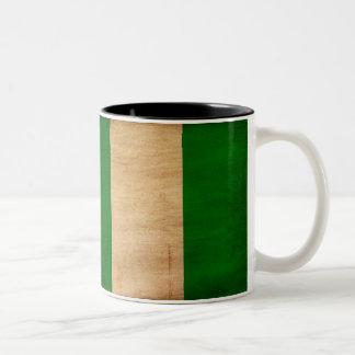 Taza de la bandera de Nigeria