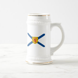 Taza de la bandera de Nueva Escocia