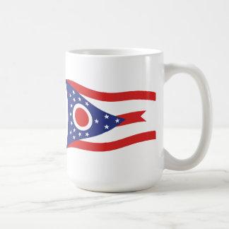 Taza de la bandera de Ohio