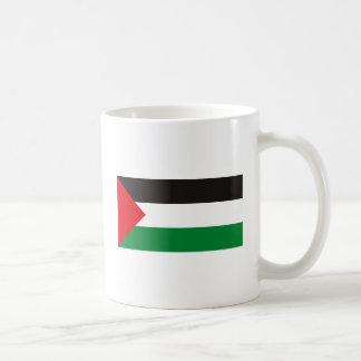 Taza de la bandera de Palestina