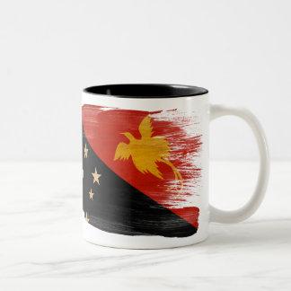 Taza de la bandera de Papúa Nueva Guinea