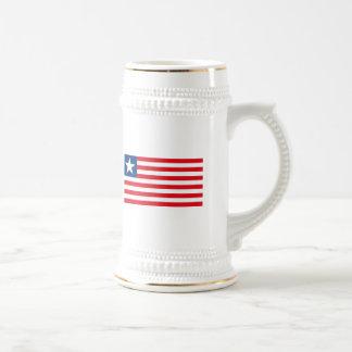 Taza de la bandera de Puerto Rico