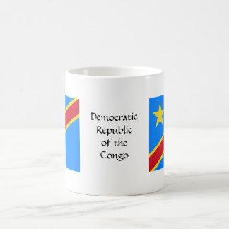 Taza de la bandera de República Democrática del