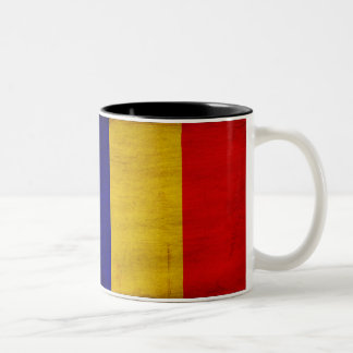 Taza de la bandera de República eo Tchad
