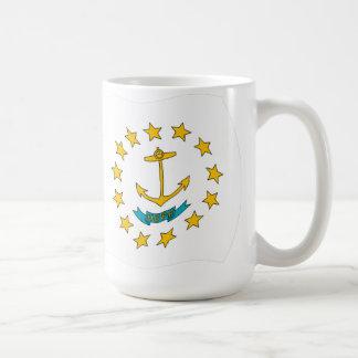 Taza de la bandera de Rhode Island