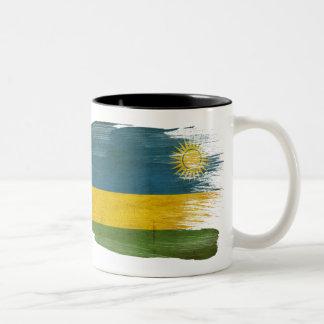 Taza de la bandera de Rwanda