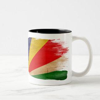 Taza de la bandera de Seychelles