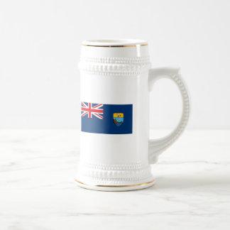 Taza de la bandera de St. Helena