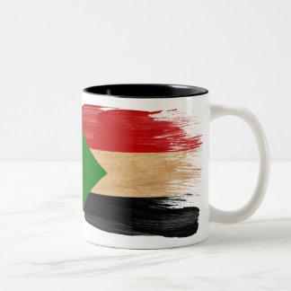 Taza de la bandera de Sudán